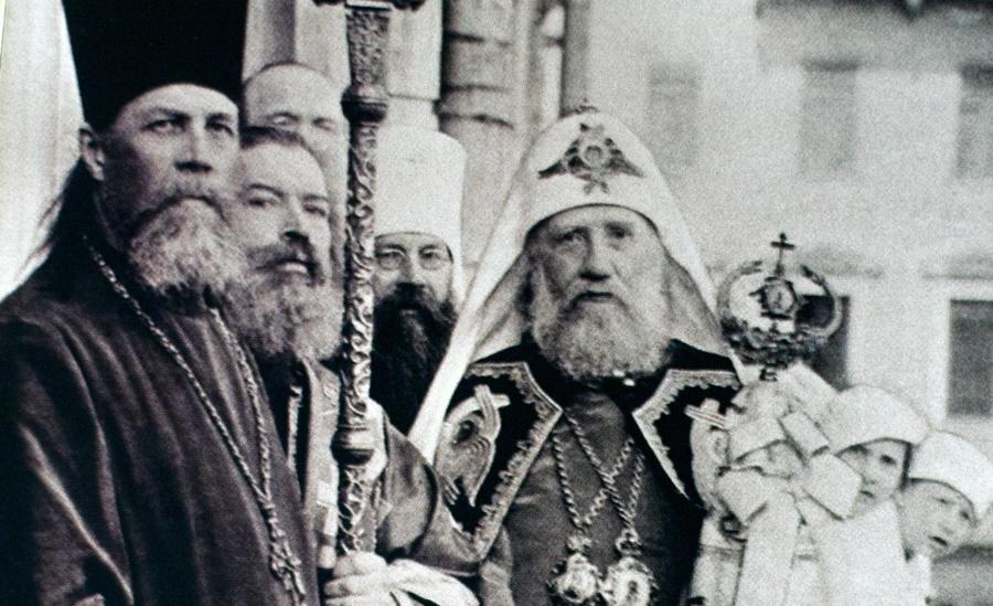 Воспоминание избрания святителя Тихона на Патриарший престол в 1917 году