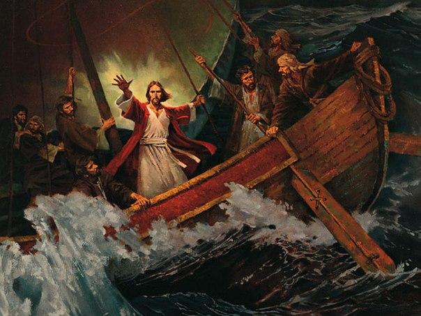 картинка иисус успокаивает бурю распространение получило