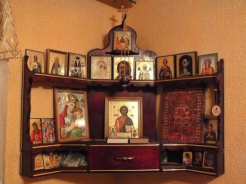 Как сделать иконостас дома своими руками фото 75