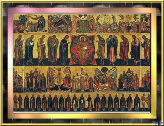 Иеромонах Симеон (Томачинский), Слово в Неделю Всех святых