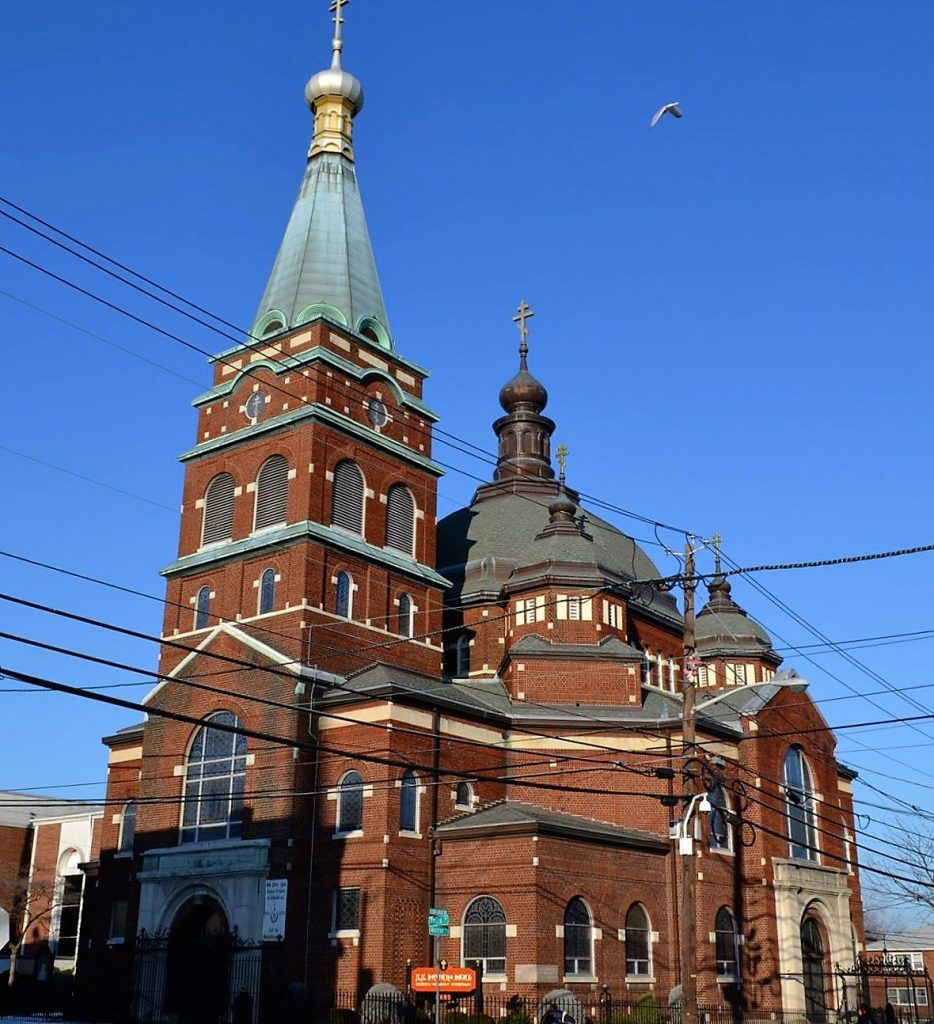 Храм во имя апостолов Петра и Павла в Нью-Джерси