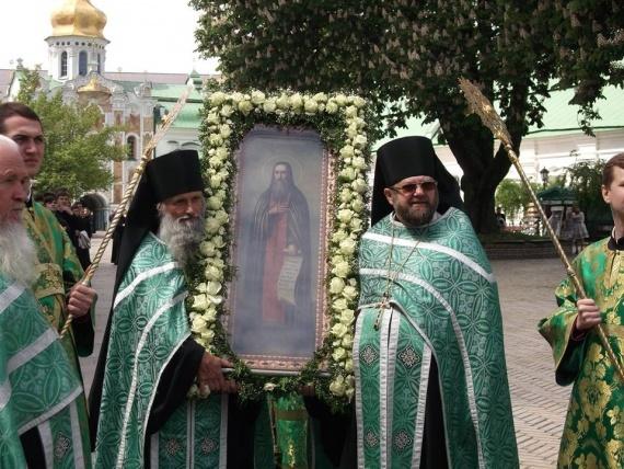 Память перенесения мощей преподобного Феодосия Печерского