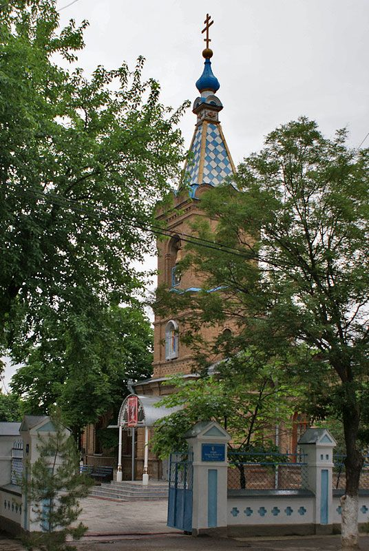 Самарканд. Покровский храм