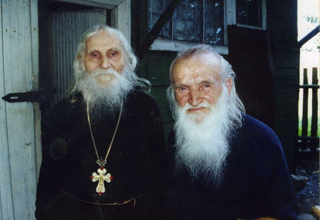 Протоиерей Василий Швец с отцом Николаем Гурьяновым