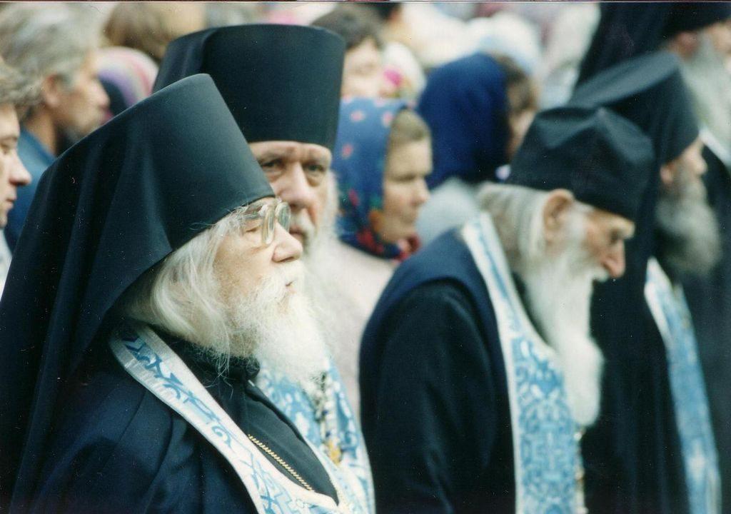 Протоиерей Василий Швец сково-Печерском монастыре