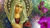 Икона Божией Матери «Умиление» Серафимо-Дивеевская