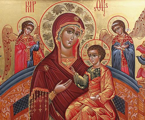 Чудо от иконы Богородицы «Всецарица»