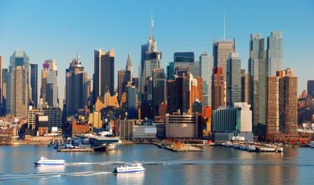 Каменные джунгли небоскребов Нью-Йорка