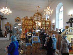 Престольный праздник-Покров Пресвятой Богородицы