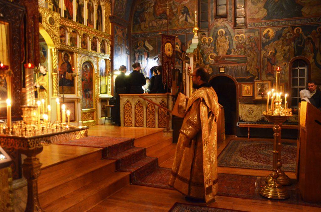 В Свято-Троицком храме