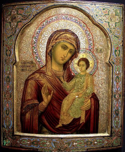 Икона Богородицы «Одигитрия» Седмиезерная