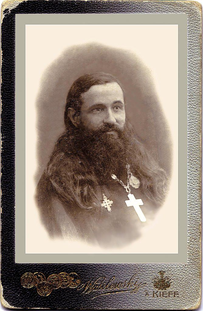 Священник Александр Глаголев - настоятель церкви Николы Доброго на Подоле