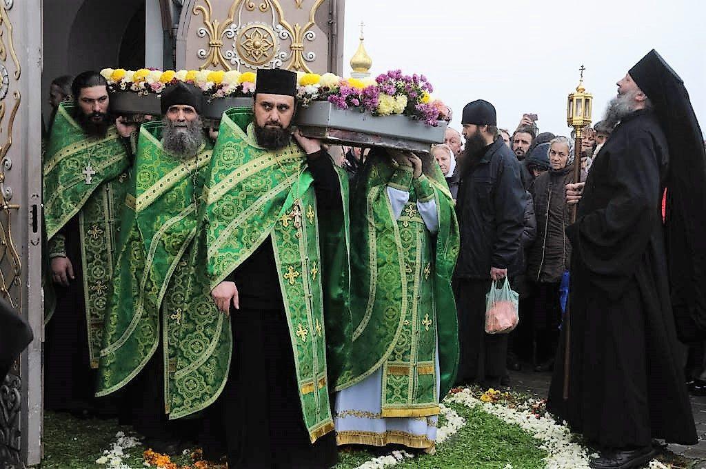 367 год со дня блаженной кончины преподобного ИОВА, игумена Почаевского Торжественный вынос мощей