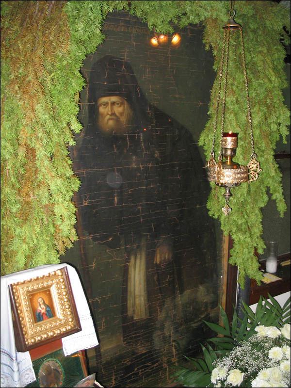Прижизненный портрет прп. Серафима Саровского