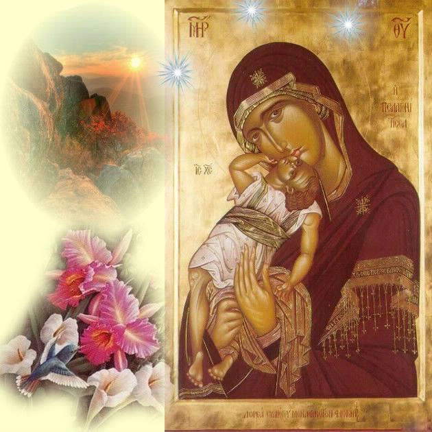 Память иконы Богородицы «Взыграние младенца» Угрешская (1795)