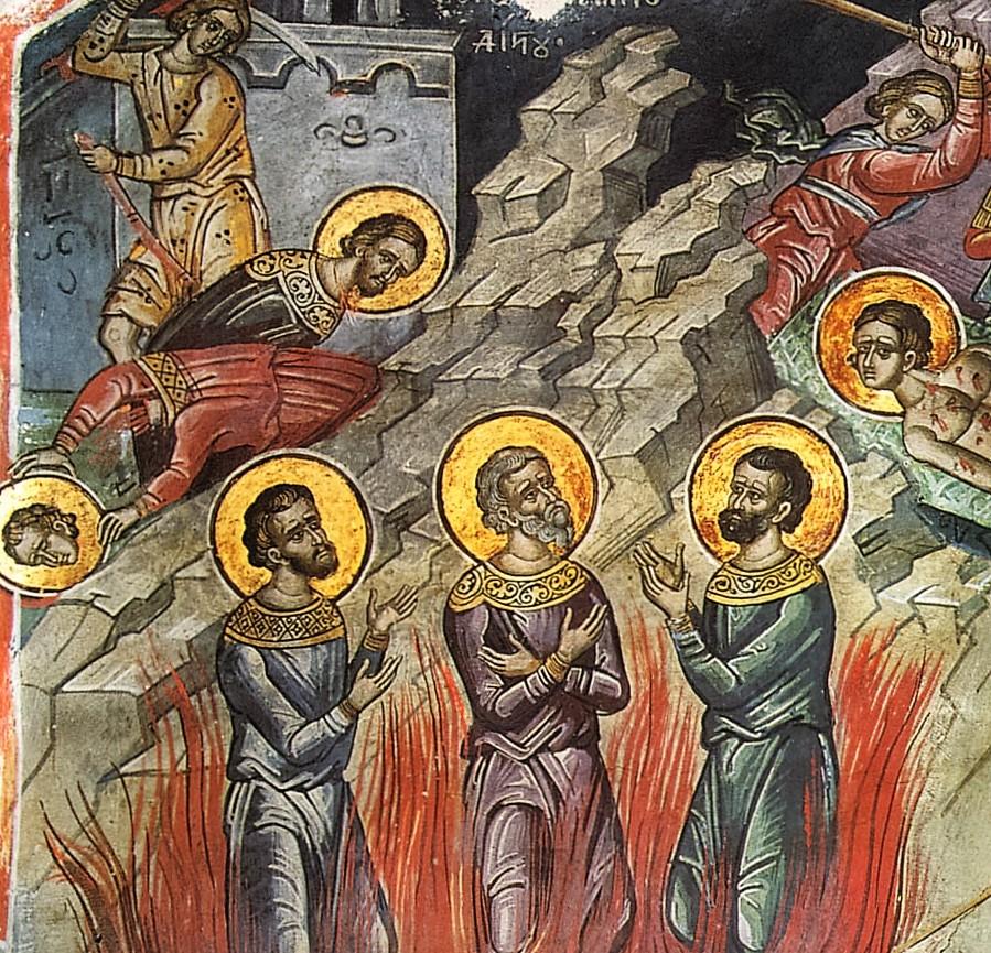 15 ноября. Мученики Акиндин, Пигасий, Анемподист - Правми - авторские блоги  священнослужителей