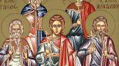 15 ноября. Мученики Акиндин, Пигасий, Анемподист
