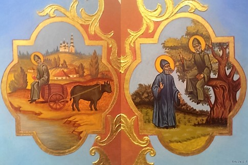 Житие прп. Феофила, Христа ради юродивого