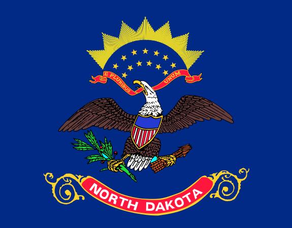 Флаг Северной Дакоты
