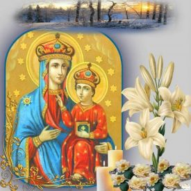 Славим Пресвятую Богородицу в честь чудотворного образа Ея, именуемого «Озерянская»