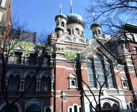 Свято-Николаевский собор в Нью- Йорке