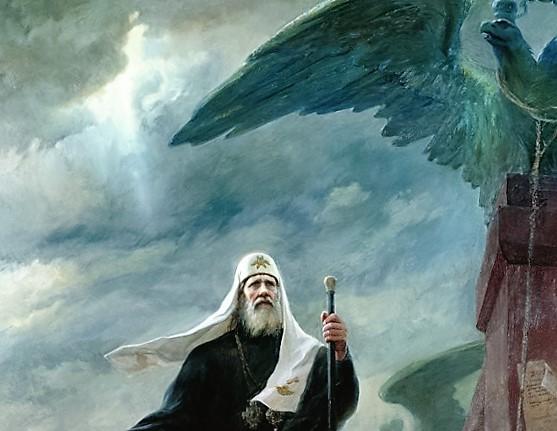 18 ноября. Избрание на Патриарший престол в 1917 году святителя Тихона (Белавина), Патриарха Московского и всея России