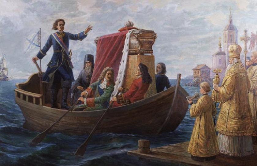 Перенесение святых мощей св. князя из Владимира в Петербург