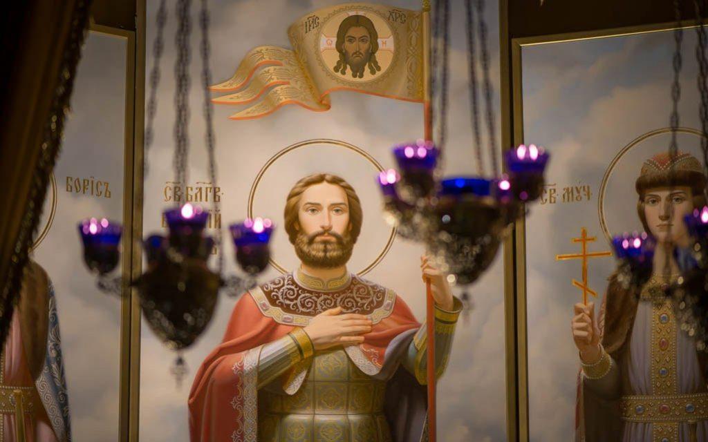 У мощей св. блг. князя Александра