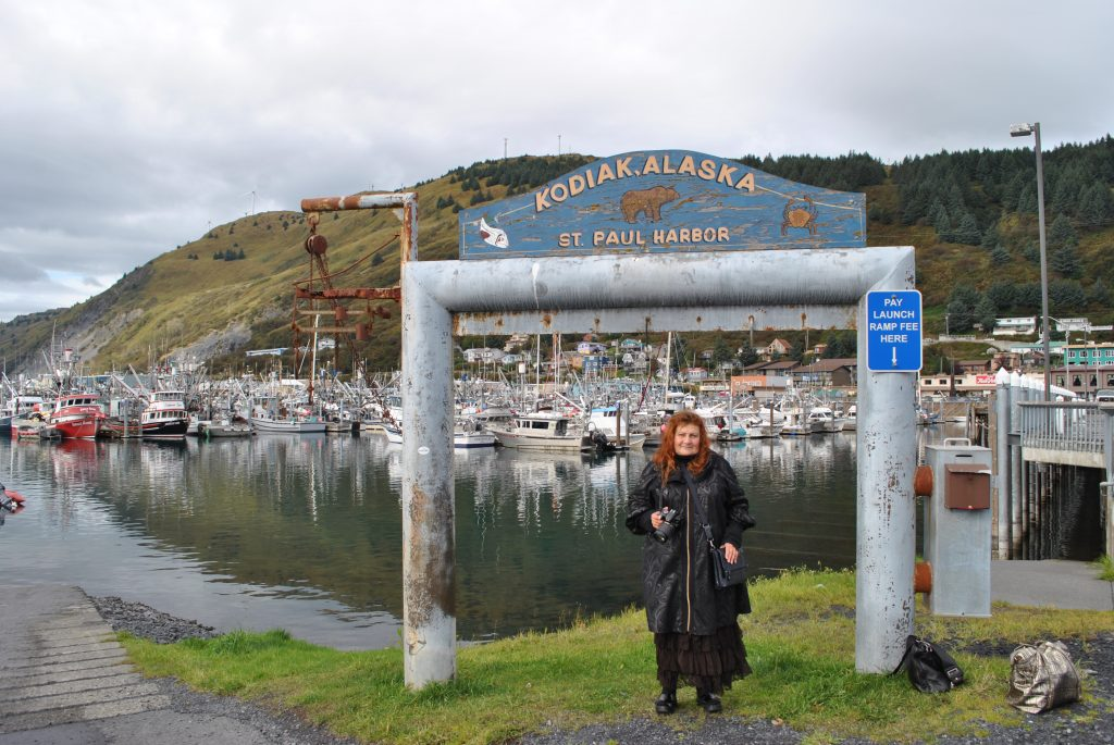 Место молитвенного подвига и блаженной кончины прп. Германа Аляскинского