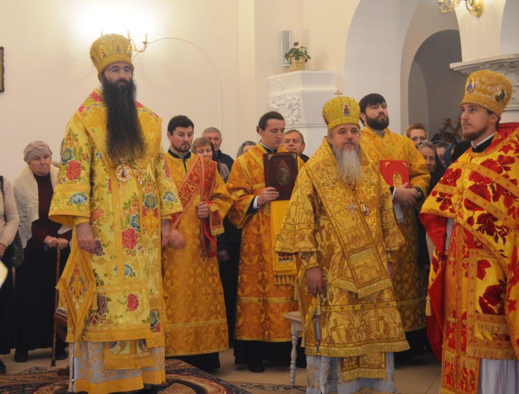 Владыка возглавил литургию