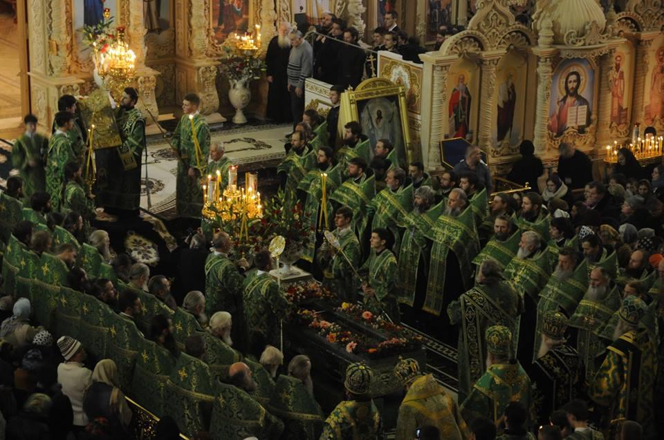 1 января - день памяти прп. Амфилохия Почаевского