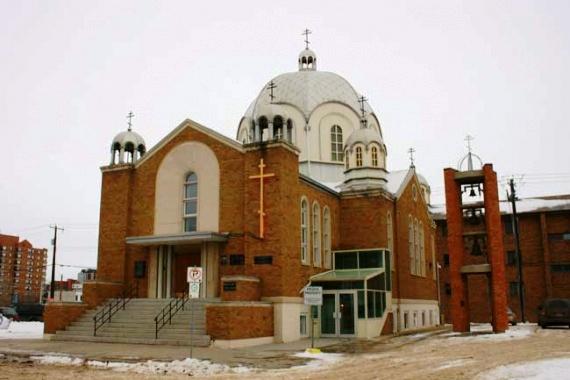Храм святой великомученицы Варвары в Эдмонтоне