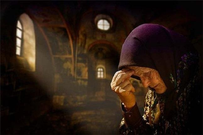 Молитва пожилого человека