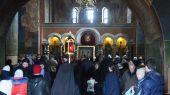 Престольный праздник в одном из древнейших на Руси киевском Кирилловском монастыре