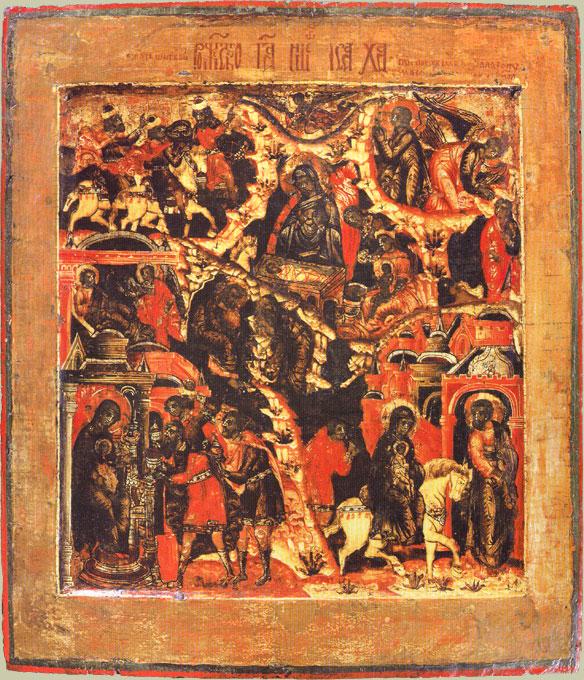 Отражение темы Рождества Христова в литературе и искусстве
