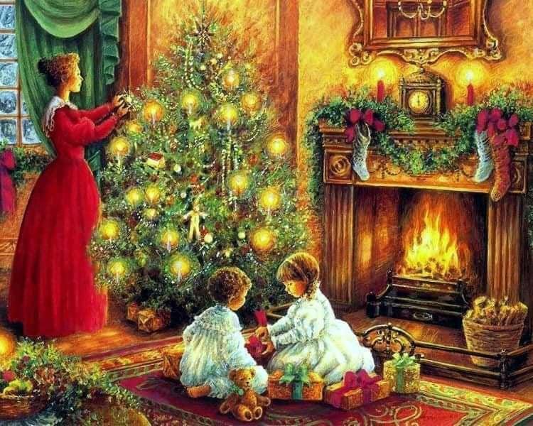 Очень доброе поздравление с Рождеством