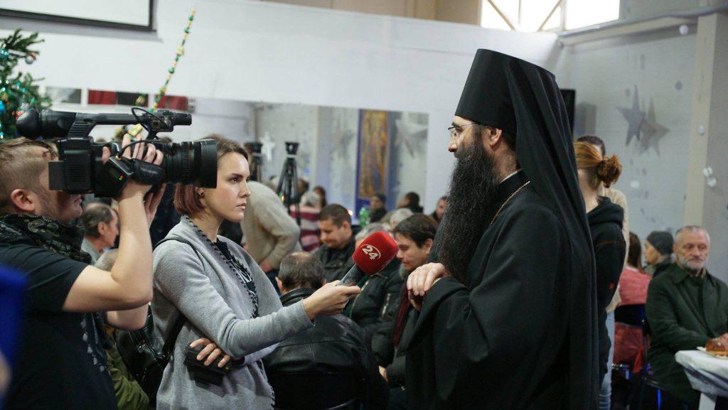 Рождественское поздравление Преосвященного Варсонофия, епископа Бородянского