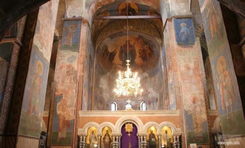 Престольный праздник в одном из древнейших на Руси киевском Свято-Кирилловском монастыре