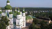 Престольный праздник в храме святителя Василия Великого киевского Кирилловского монастыря