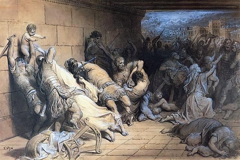 Святые мученики 14000 младенцев, за Христа убиенных