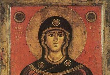 Мученица Иулиания и с нею 500 мужей и 130 жен, в Никомидии пострадавших