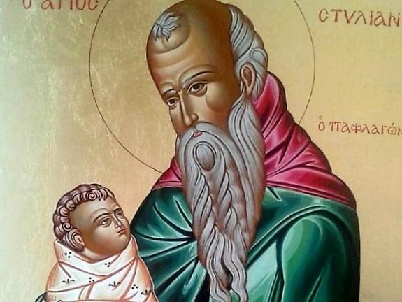 Преподобный Стилиан - покровитель и целитель детей