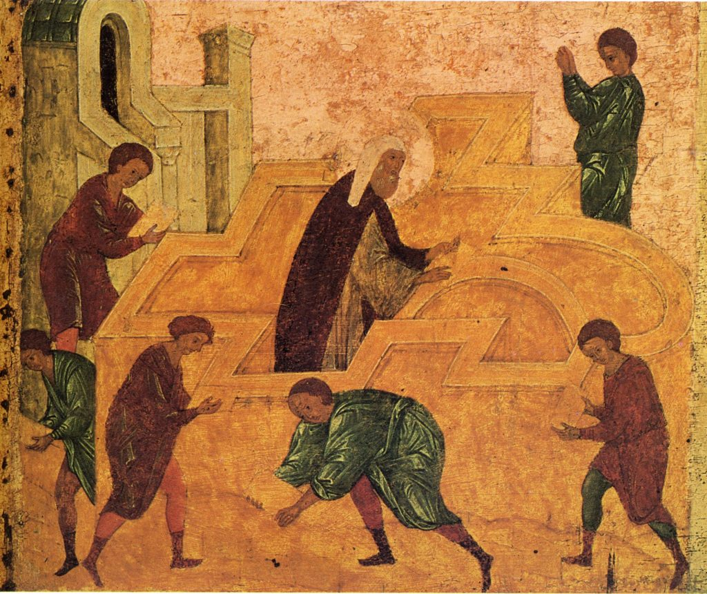 Хищение Ковчега Завета и возведение Третьего храма