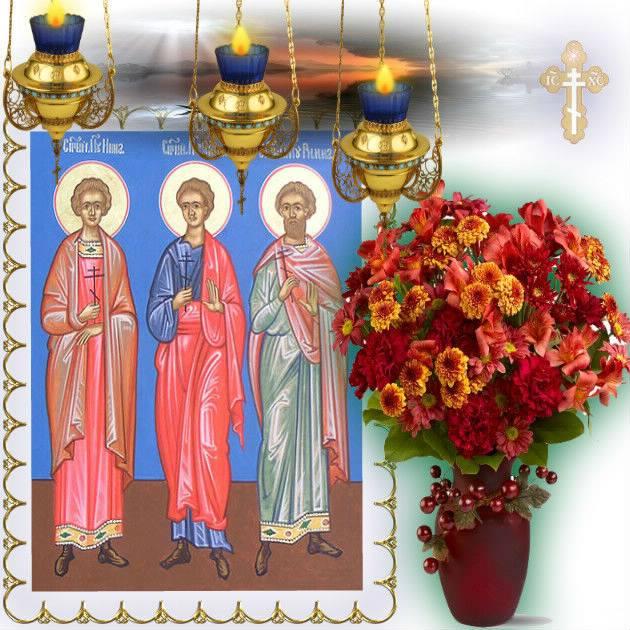 2 Февраля чествуем первых русских святых: Инну, Пинну и Римму