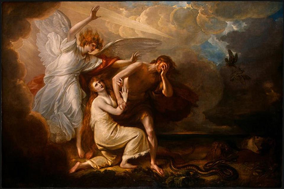Воспоминание Адамова изгнания. Потерянный Рай