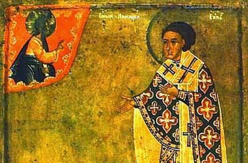 Преподобный Никита затворник