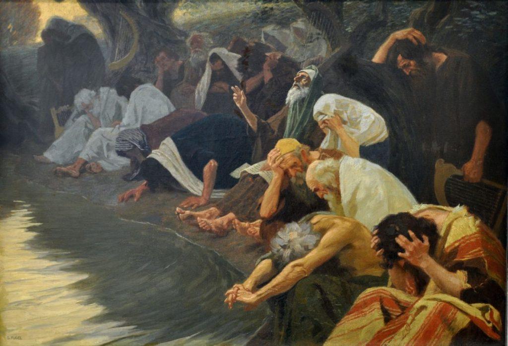 На реках Вавилонских. Псалом 136
