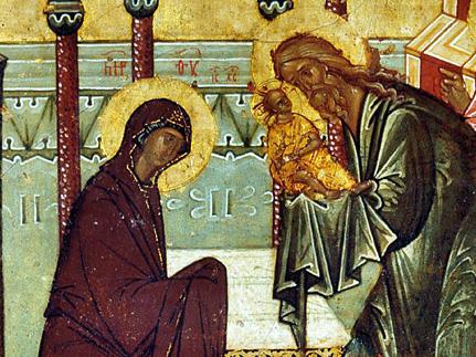 К отданию праздника Сретения. Сретение с Творцом