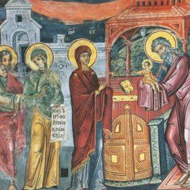 В преддверии праздника Сретения