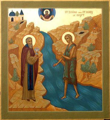 Старец Зосима и Мария
